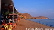 Griechenland - Lesbos, Strandcafes