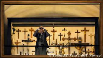 Scene from 'Parsifal' at the Bayreuth Festival on opening day 2016. Copyright: Bayreuther Festspiele/E. Nawrath