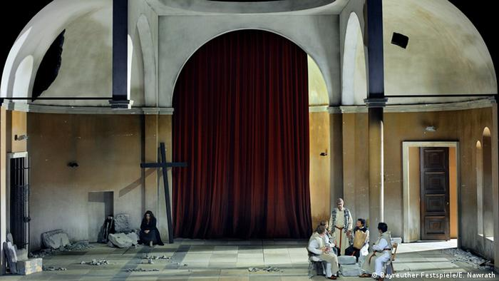 Scene from Parsifal.Copyright: Bayreuther Festspiele/E. Nawrath