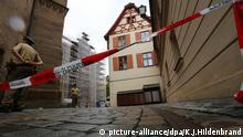 Selbstmordanschlag Ansbach Bayern Absperrung
