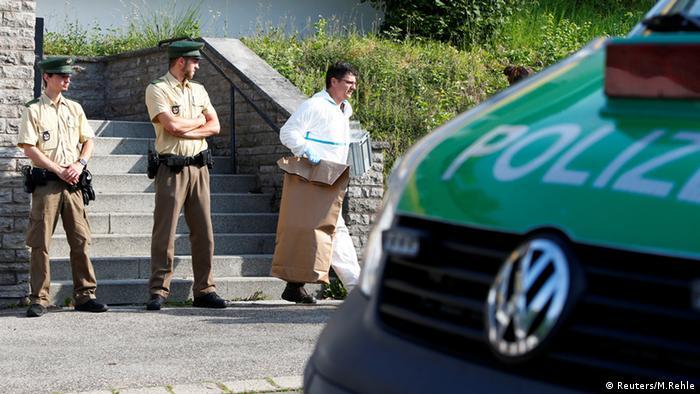 Баварские полицейские