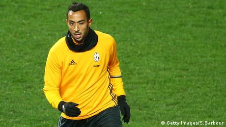 Medhi Benatia Juventus Turin Training Fußballspieler Fußball