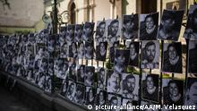 01.02..2016+++MEXICO CITY, MEXICO +++ Journalists attend a protest outside the Veracruz state representation office in Mexico, Mexico City on February 11, 2016. Mexican journalist Anabel Flores Salazar, 32, was found dead in Puebla on February 9, 2016 a day after she was abducted. Manuel Velasquez / Anadolu Agency | Keine Weitergabe an Wiederverkäufer. Copyright: picture-alliance/AA/M. Velasquez