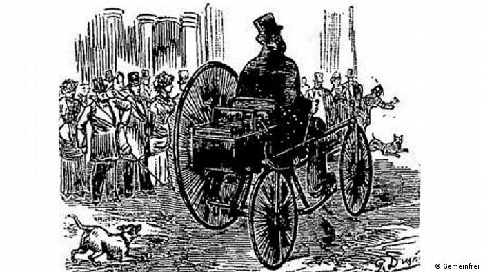 Перший електровелосипед