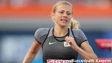 FILE - Yuliya Stepanova of Russia competes in 800m Women Qualifying Rounds at the European Athletics Championships at the Olympic Stadium in Amsterdam, The Netherlands, 06 July 2016. Photo: Michael Kappeler/dpa (zu dpa: Whistleblowerin Stepanowa erhält Anti-Doping-Preis der Opfer-Hilfe vom 19.07.2016) +++(c) dpa - Bildfunk+++   Verwendung weltweit Copyright: picture-alliance/dpa/M. Kappeler