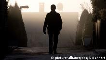 Silhouette eines Mannes