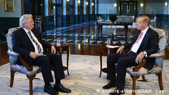 Türkei ARD Interview Erdogan