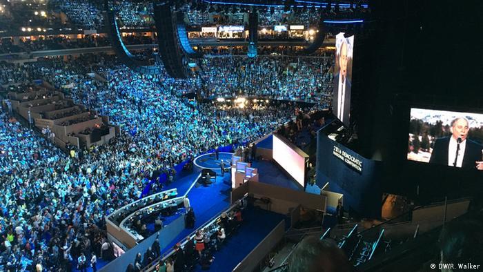 USA Wahlen Parteitag der Demokraten in Philadelphia