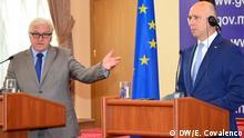 Frank-Walter Steinmeier PK Pavel Filip in Chisinau Moldau