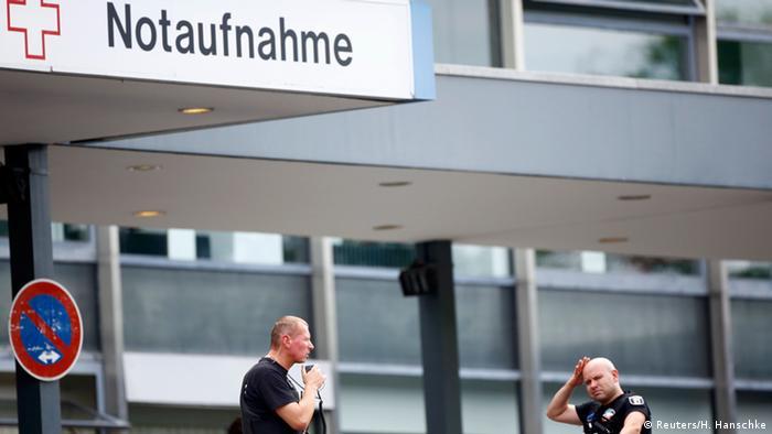 Deutschland Polizeieinsatz in Berlin-Steglitz