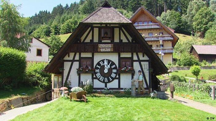 Half-timbered house in the Black Forest (DW)