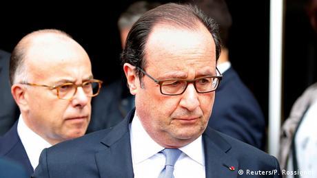 Francois Hollande und Bernard Cazeneuve