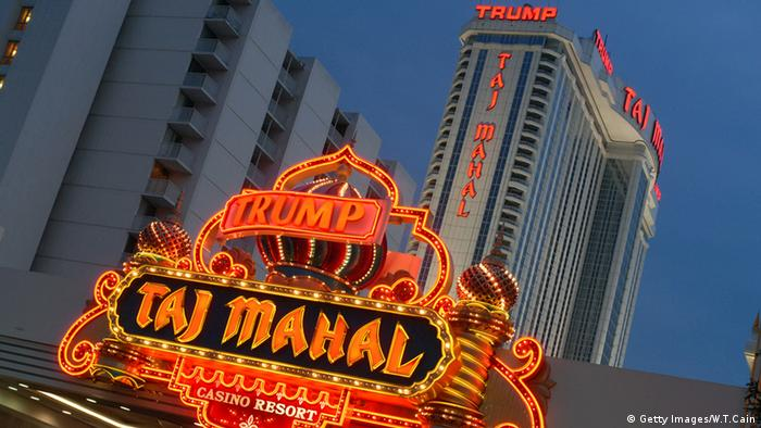 Trump Taj Mahal Hotel and Casino, Atlantic City, copyright: William Thomas Cain/Getty Images