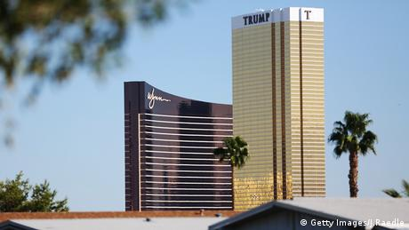 Wynn Hotel and Trump Tower, Las Vegas, Copyright: Getty Images/J.Raedle