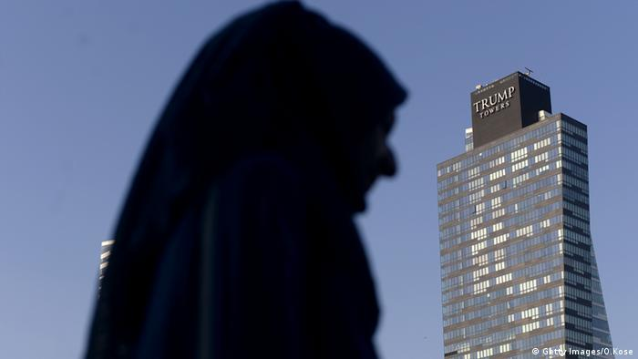 Istanbul Trump Towers, copyright: OZAN KOSE/AFP/Getty Images