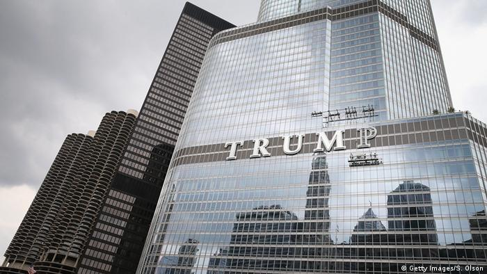 Trump Tower, Chicago, copyright: Scott Olson/Getty Images
