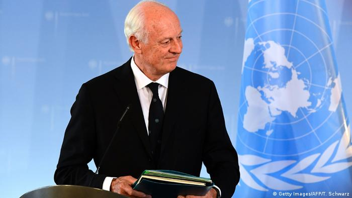 Deutschland Staffan de Mistura in Berlin