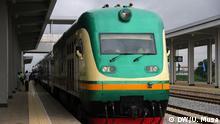 Nigeria Eröffnung Eisenbahnlinie zwischen Abuja und Kaduna