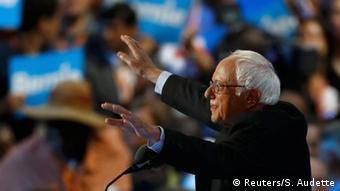 USA Wahlen Parteitag der Demokraten in Philadelphia Bernie Sanders