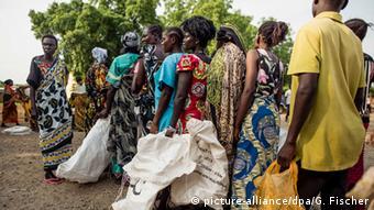 Südsudan Flüchlinge suchen Schutz