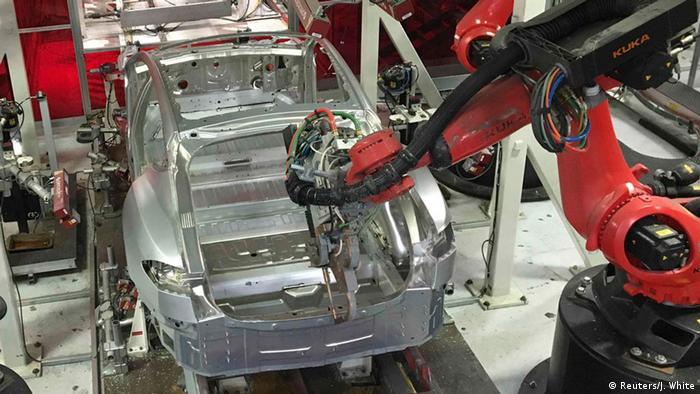 USA Tesla Autoproduktion
