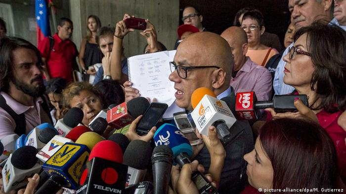 Venezuela Präsident Nicolas Madura Pressestatement