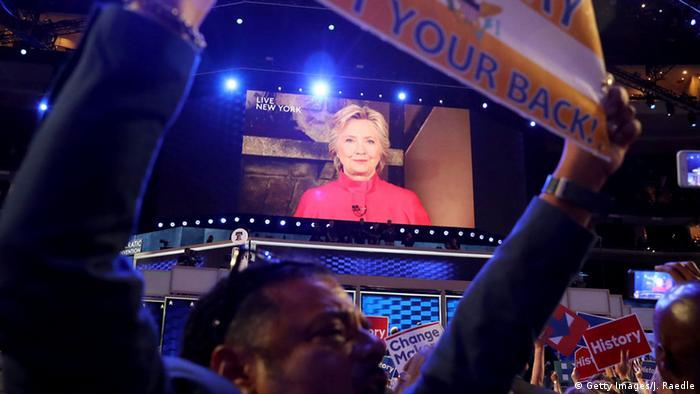 USA Wahlen Parteitag der Demokraten in Philadelphia Hillary Clinton