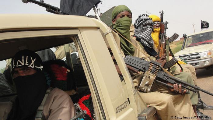 Mali: Des combattants d'Ansar Dine en 2012, à Kidal