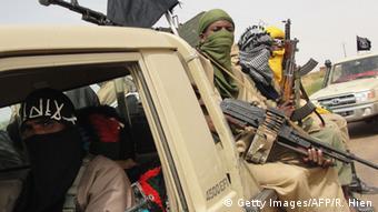 Des membres de groupes armés dans le nord du Mali.