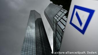 Τα κεντρικά γραφεία της Deutsche Bank στη Φρανκφούρτη