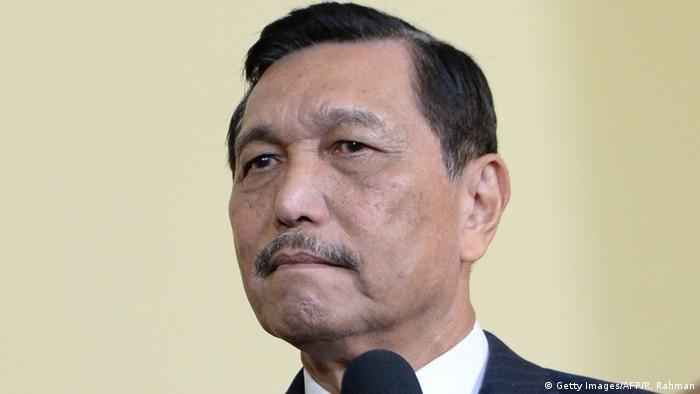 Luhut Binsar Pandjaitan (Getty Images/AFP/R. Rahman)