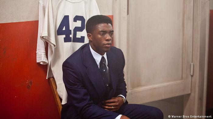 Filmszene aus 42 - Die wahre Geschichte einer Sportlegende. (Foto: Warner Bros Entertainment)