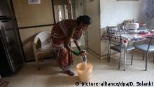 Indien Haushaltshilfe Symbolbild
