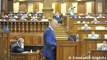 Republik Moldau Pavel Filip im Parlament in Chisinau