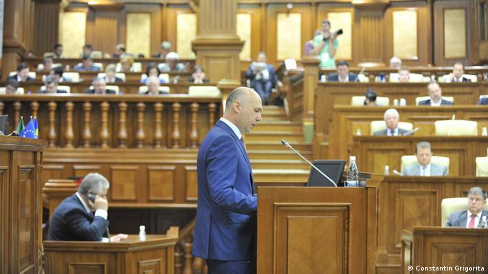 Premierul Pavel Filip in Parlament