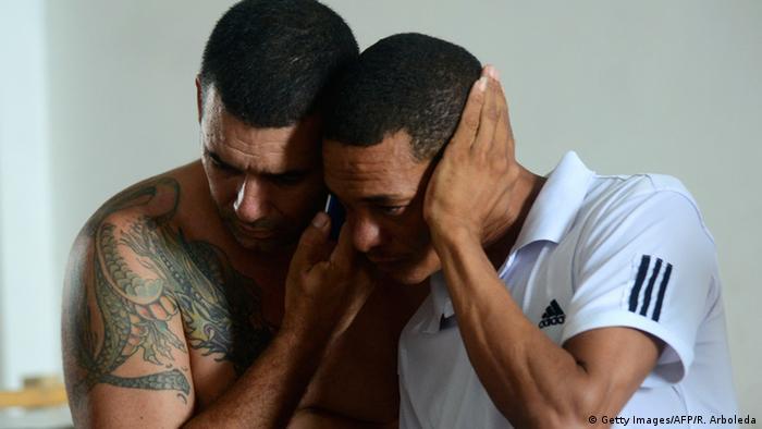 Kolumbien kubanische Migranten in Turbo