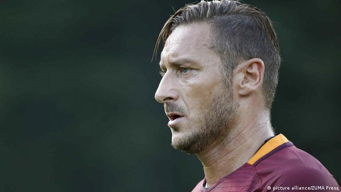 Italien Fußballer Francesco Totti (picture alliance/ZUMA Press)