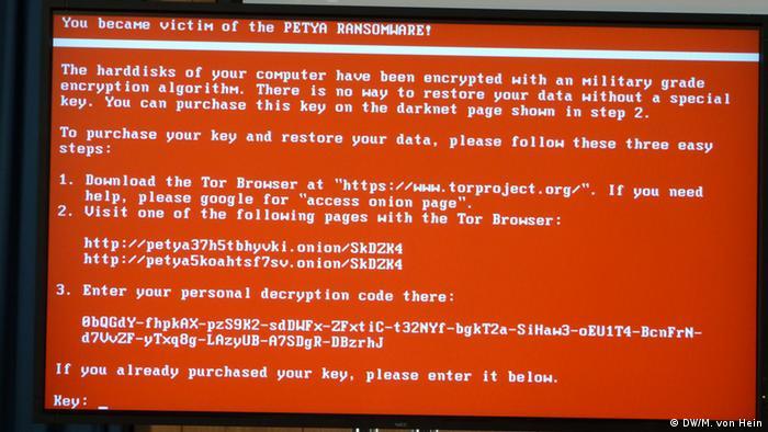 Вірус Petya вимагав переказати кошти на біткоїн-гаманець