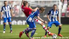 Die Generalprobe der Herthaner im Testspiel beim niederländischen Klub AZ Alkmaar ging daneben: 0:3