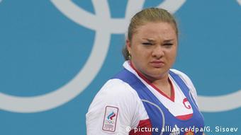 Russland Wegen Doping gesperrte Sportler Tatiana Kashirina