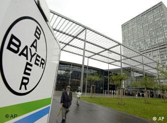 Matriz da Bayer, na cidade alemã de Leverkusen