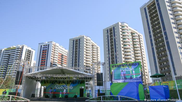 Braislien Olympisches Dorf in Rio