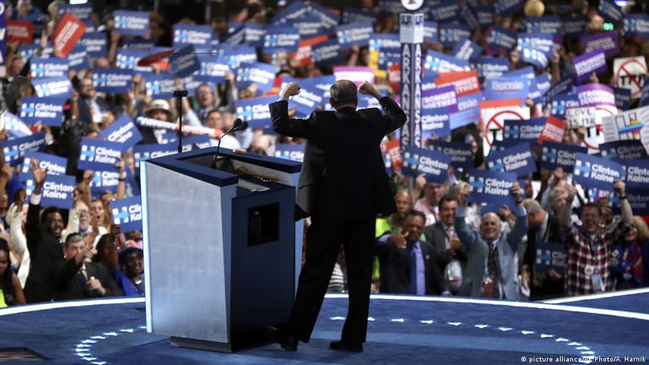 Kaine accepts party nomination as Obama praises Clinton, blasts Trump
