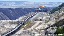 Open-cast mine in eastern Germany (picture-alliance/ZB/J. Kalaene)