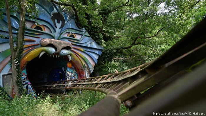 Deutschland Verlassene Orte in Berlin Spreepark