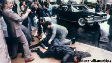 USA Attentat auf Präsident Ronald Reagan 1981