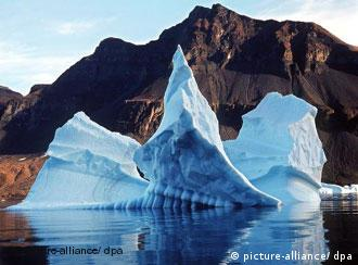 Deshielo actual en Groenlandia.
