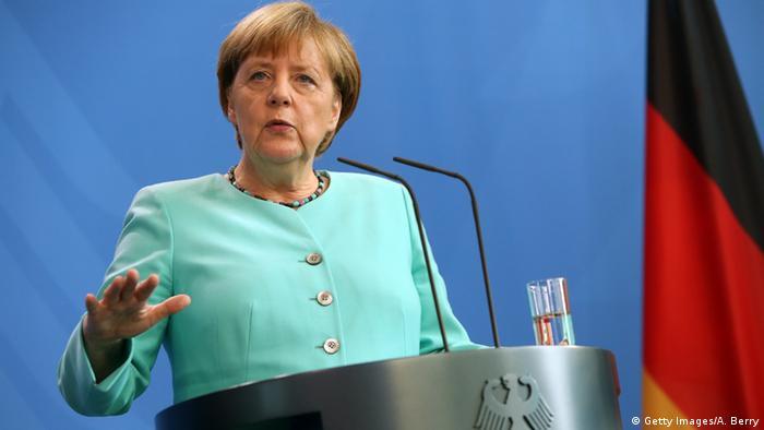 Angela Merkel Porträt