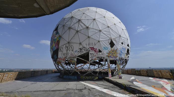 Deutschland Verlassene Orte in Berlin Teufelsberg