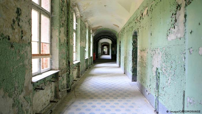 Deutschland Verlassene Orte in Berlin Beelitzer Sanatorium